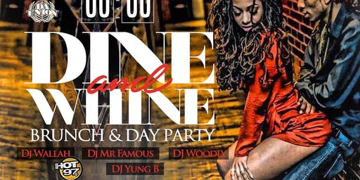DINE & WHINE!!! BRUNCH & DAY PARTY AT TAJ NYC!!! OPEN BAR AVAILABLE!!!