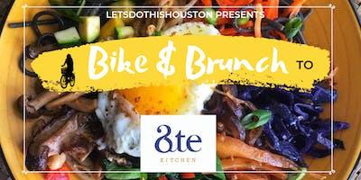 Bike & Brunch to Ate Kitchen