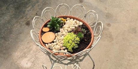 DIY Tabletop Succulent Miniature Garden 10am tickets