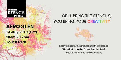 Street Art for Our Oceans [13 July - Aeroglen] tickets