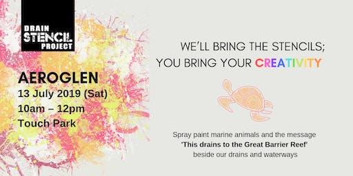 Street Art for Our Oceans [13 July - Aeroglen]