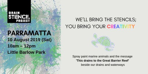 Street Art for our Oceans [10 August – Parramatta]