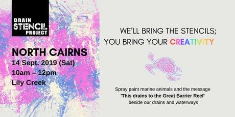 Street Art for our Oceans [14 September – North Cairns] tickets