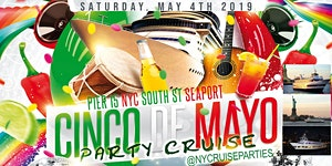 Cinco De Mayo Party Dance Cruise NYC Boat Party South...