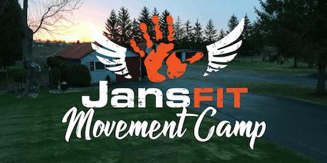 JansFIT Movement Camp 2019 tickets