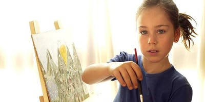 Kids After School Painting Class, Toronto