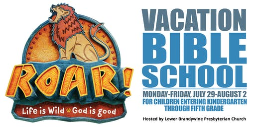 Vacation Bible School - Roar!