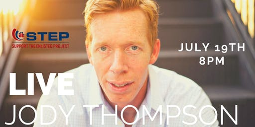 JODY THOMPSON LIVE STAND-UP TAPING. THIS FREE EVENT BENEFITS STEPSOCAL.ORG