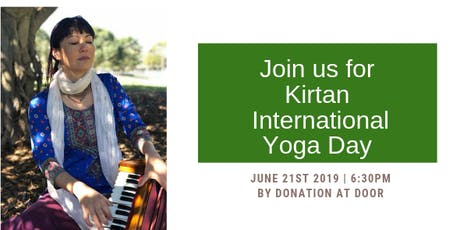 Kirtan | Everyone Welcome | By Donation tickets