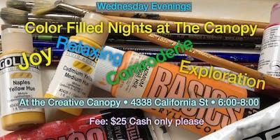 wednesday night art classes