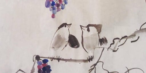 Sumi-e ( Japanese Ink Painting) After School Class - Toronto Kids Art Program