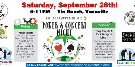 9th Annual Rayna's Resistance Poker & Concert Fundraiser  tickets