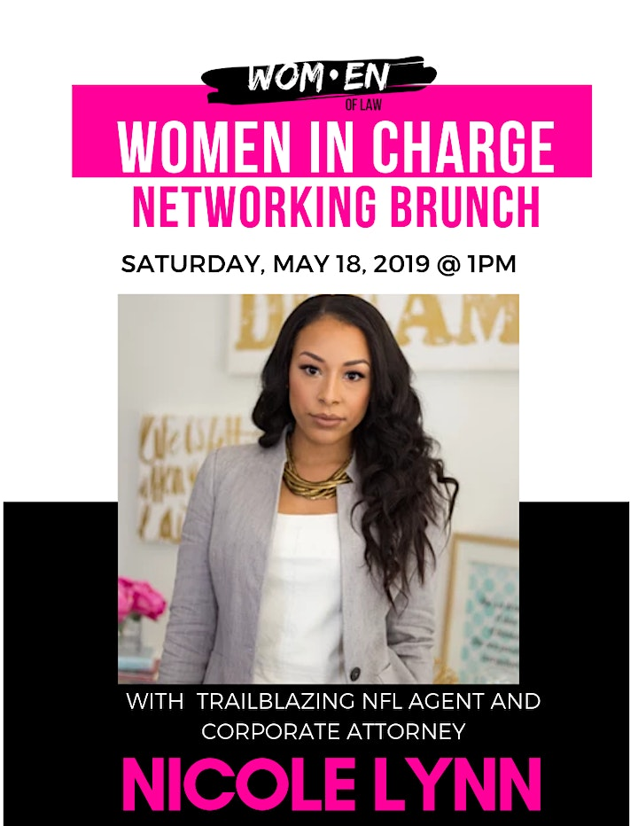 Women In Charge Networking Brunch image