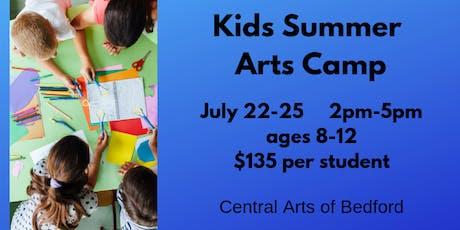 Kids Summer Arts Camp  tickets