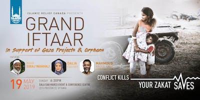 Grand Iftaar in Support of Gaza · Ottawa