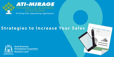 Strategies to Increase Your Sales - Free Workshop for Small Businesses