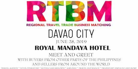6th RTBM Davao City (B2B Event) Buyers tickets