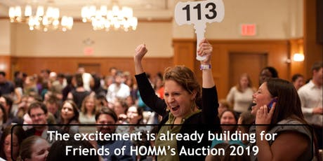 AUCTION Friends of HOMM  - Nov 9, 2019 tickets
