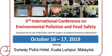 3rd International Conference on Environmental and Food Safety (EFS2019) tickets