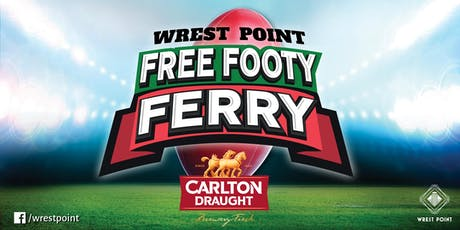 Wrest Point Free Footy Ferry Roos v Demons tickets