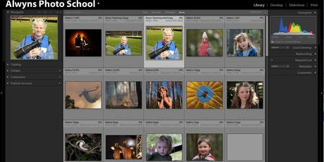 Photography Course-Lightroom Classic Part 1 (Vermont South) tickets
