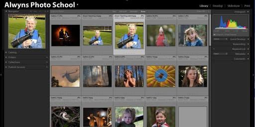 Photography Course-Lightroom Classic Part 2 (Greensborough)