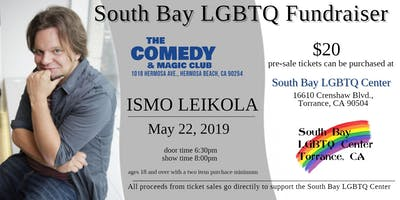 Comedy Fundraiser to support of the South Bay LGBTQ Center