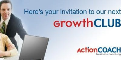 """GrowthCLUB"" 90-Day Planning Workshop December 2019"