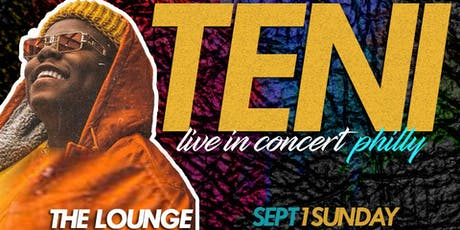 TENI PHILLY CONCERT tickets