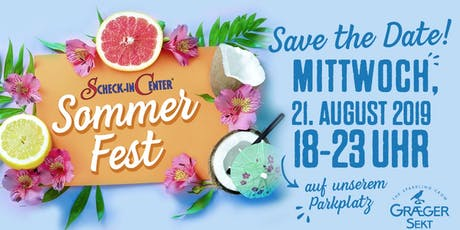 Scheck-in Sommerfest 2019 Tickets