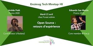 Ensimag Tech Meetup #8 - Open Source : retours...