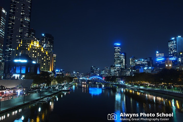 Photography Course 10-Night Photography 2021 (Melbourne City) image