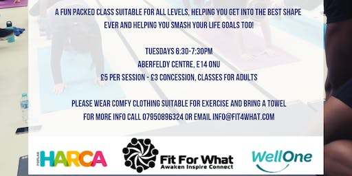 Fit For What Transformation Class