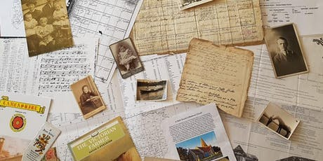 Researching Your Family History Introductory Workshop with Helena Sanderson tickets