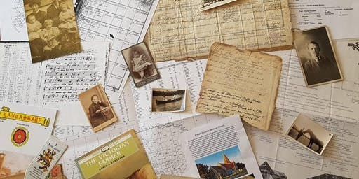 Researching Your Family History Introductory Workshop with Helena Sanderson