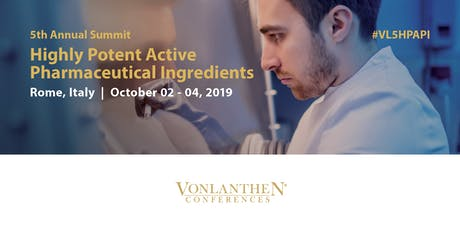 5th Annual Highly Potent Active Pharmaceutical Ingredients Summit tickets