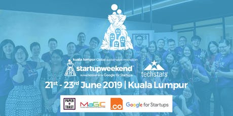 Global Startup Weekend Sustainable Revolution Kuala Lumpur Edition tickets