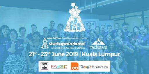Global Startup Weekend Sustainable Revolution Kuala Lumpur Edition