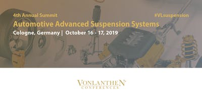 4th Annual Automotive Advanced Suspension Systems Summit