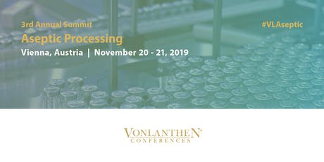 3rd Annual Aseptic Processing Summit tickets