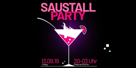 Saustallparty Tickets