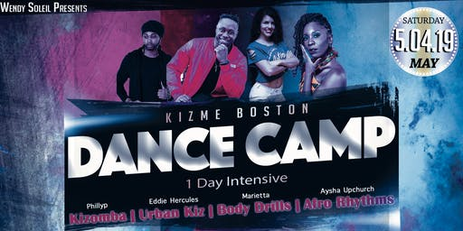 KizMe Boston Dance Camp - 1 Day Intensive