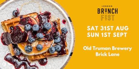 London Brunch Fest 2019 tickets