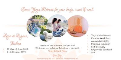 Sensi Yoga Goddess Retreat for your body, mind & soul.