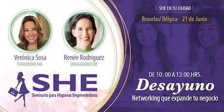 CÍRCULO SHE (DESAYUNO) Bruselas - Bélgica  tickets