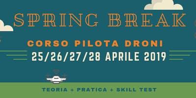 """Corso Pilota Droni """"Spring Break"""" - Aeroclub Biella"""