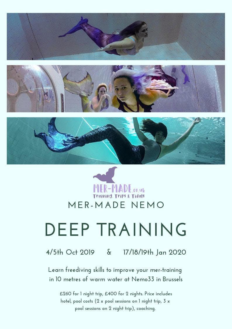Mer-Made Nemo33 Deep Training and Portfolio Building Experience (2 day) January 2020