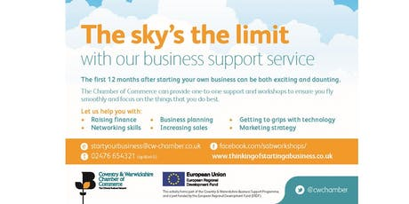 Coventry- Thinking of starting a business (Session 1/4) tickets