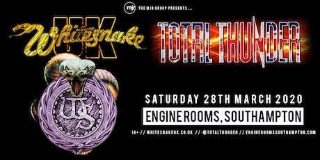 Whitesnake UK + Total Thunder (Engine Rooms, Southampton) tickets
