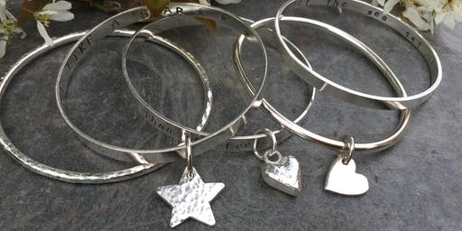 Silver Clay  Charm and Bangle Workshop